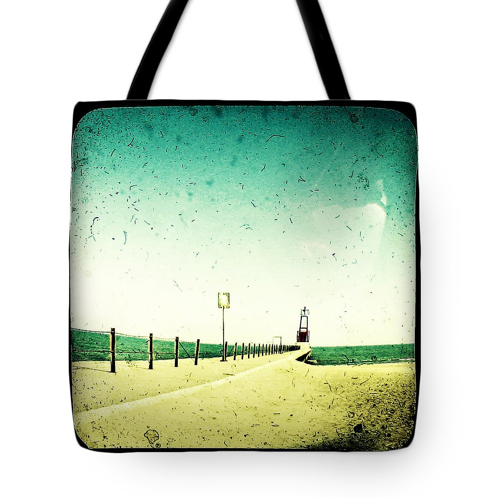 Beach Tote Bag featuring the photograph These Days Are Gone by Dana DiPasquale
