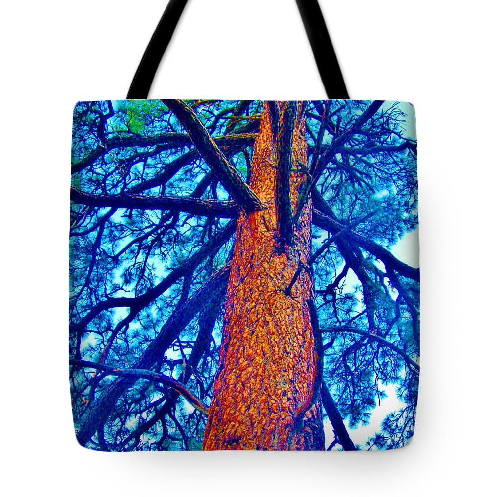 Blues Tote Bag featuring the photograph Things Are Looking Up by Marilyn Diaz