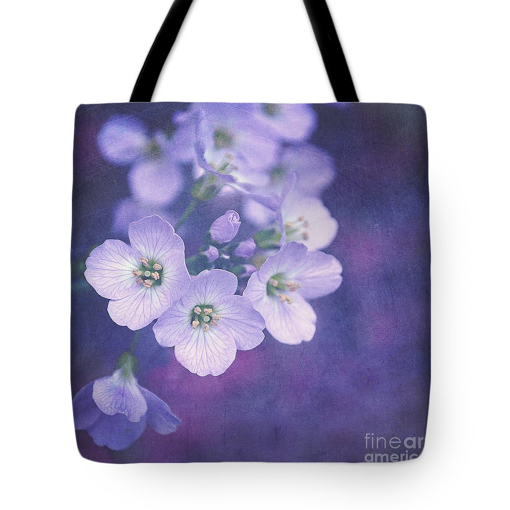 Purple Tote Bag featuring the photograph This Enchanted Evening by Lyn Randle