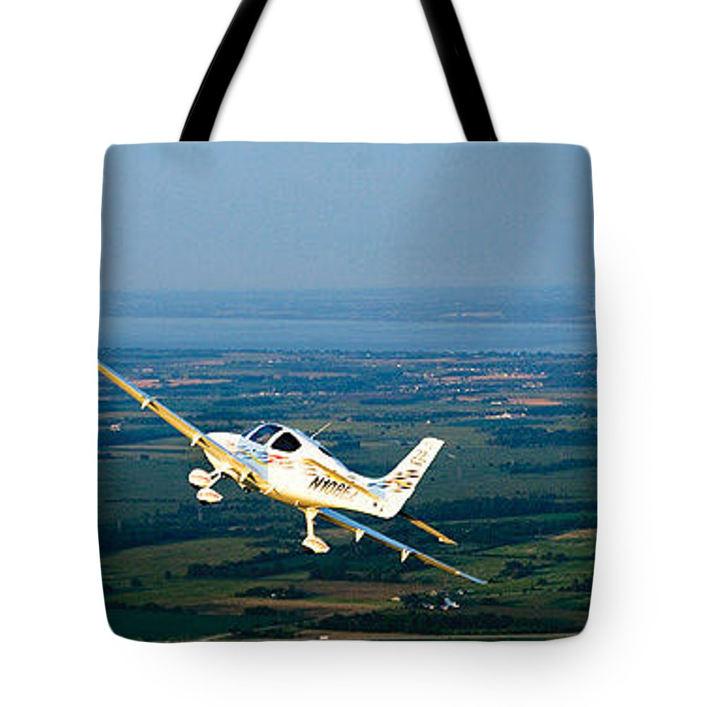 Tote Bag featuring the photograph This Guide Can Help You Fly An Airplane Confidently by Kim Bishop