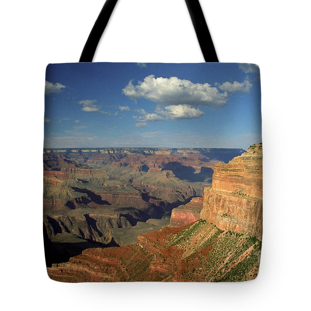 Grand Canyon Tote Bag featuring the photograph This Is My Father's World by Kathy McClure