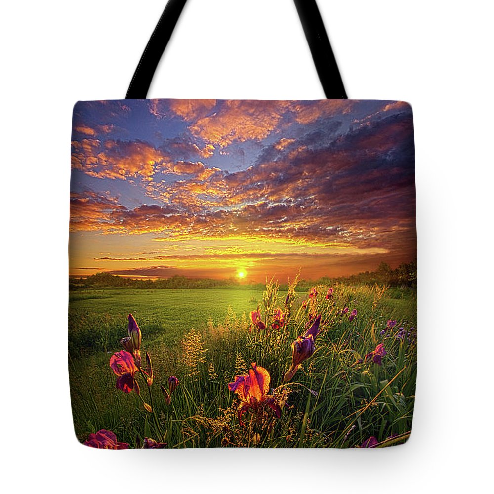 Travel Tote Bag featuring the photograph This Life Is A Gift For Everyone by Phil Koch