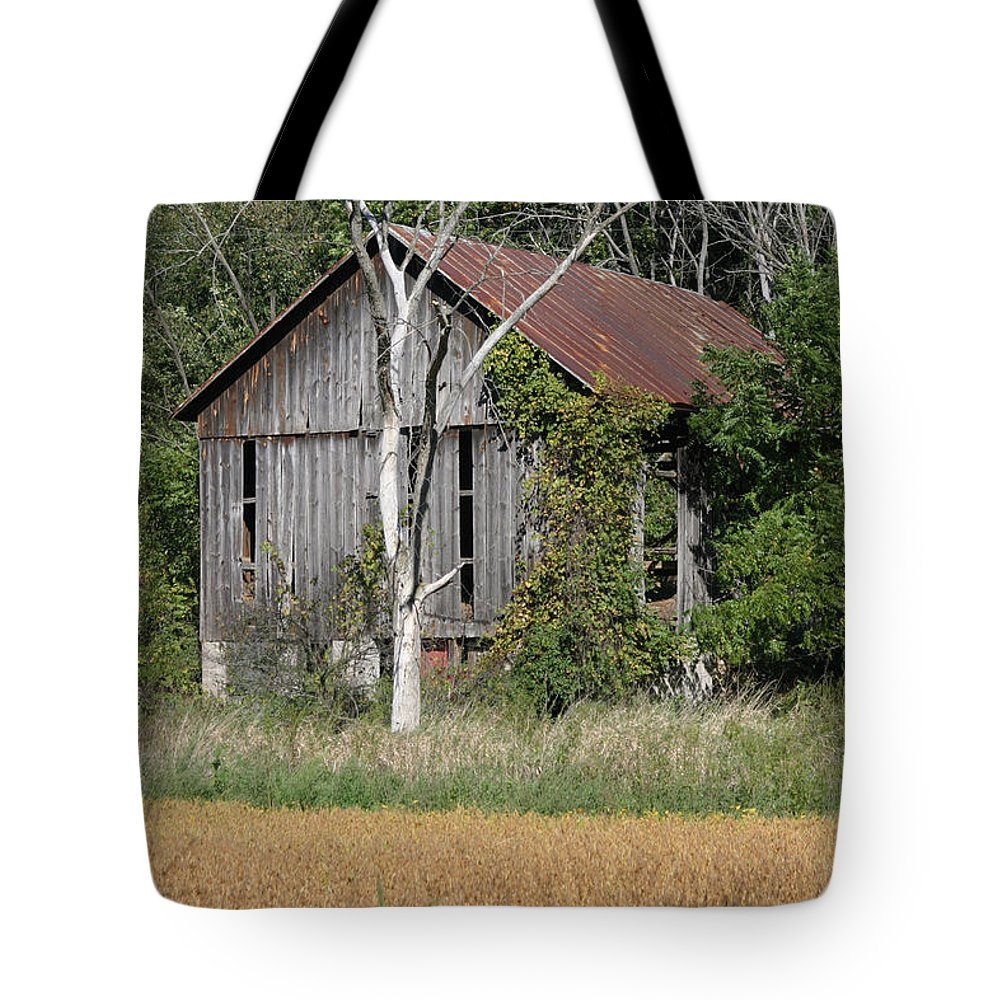 Barns Tote Bag featuring the photograph This Old Barn by Bjorn Sjogren