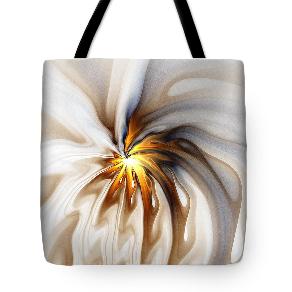 Digital Art Tote Bag featuring the digital art This Too Will Pass... by Amanda Moore