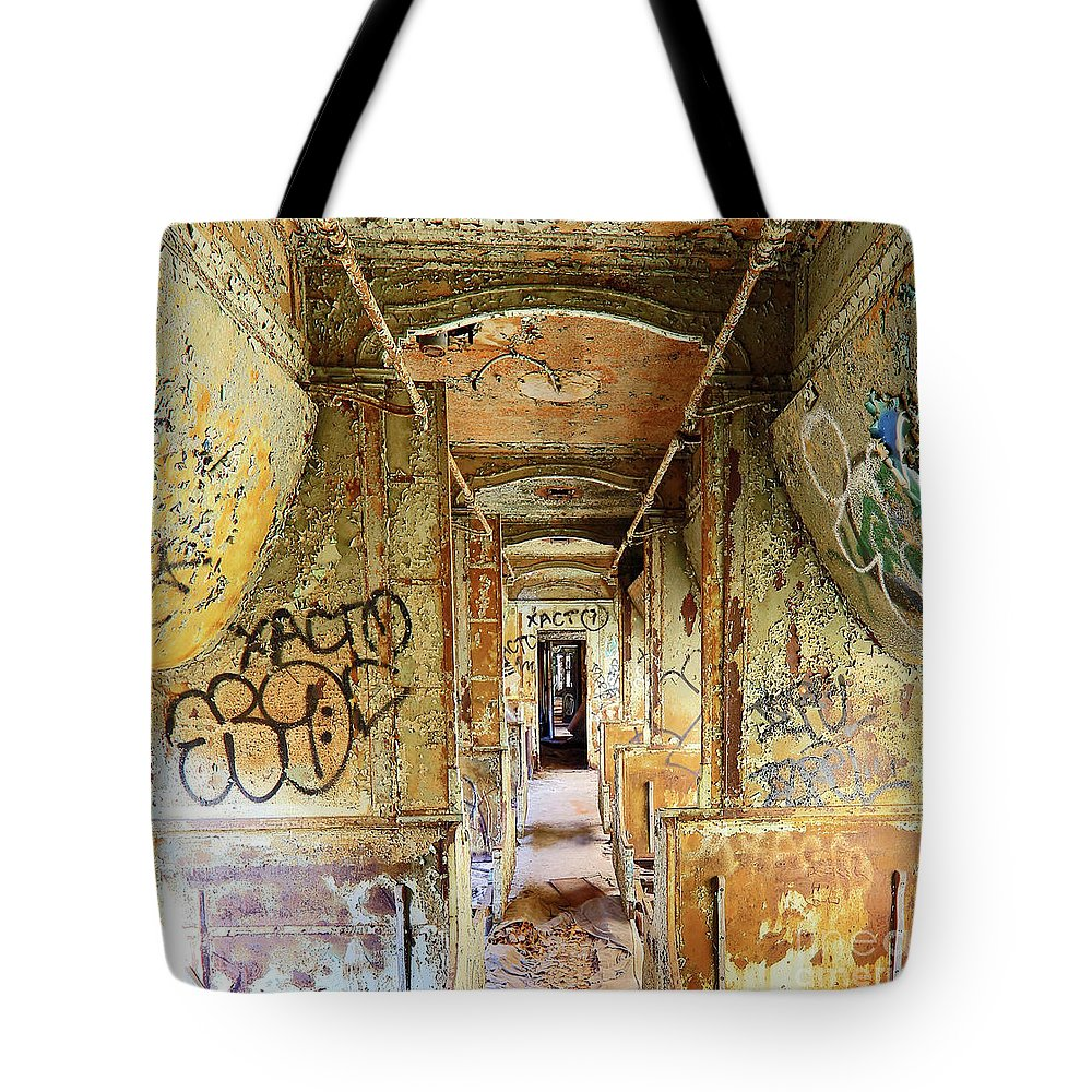 Train Tote Bag featuring the photograph This Train by Steve Gass