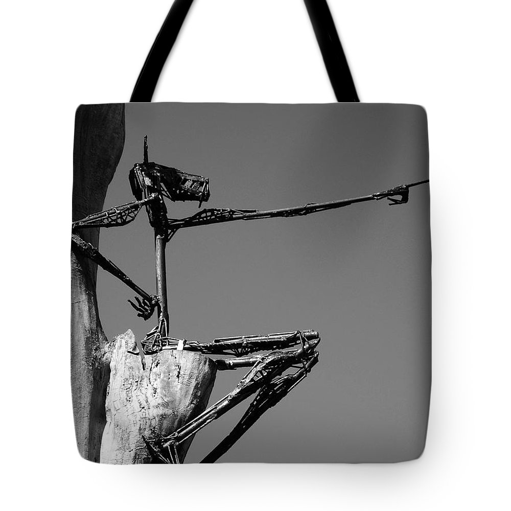North America Tote Bag featuring the photograph This Way ... by Juergen Weiss