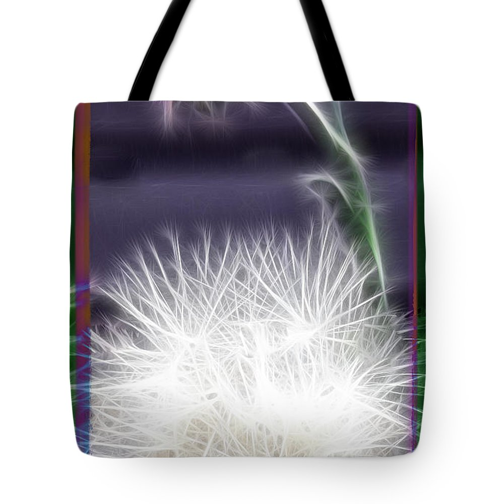 Plant Tote Bag featuring the photograph Thistle by Ericamaxine Price