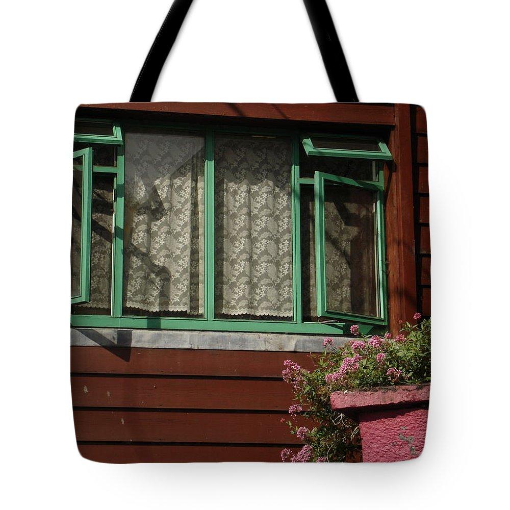 Thomastown Tote Bag featuring the photograph Thomastown by Kelly Mezzapelle