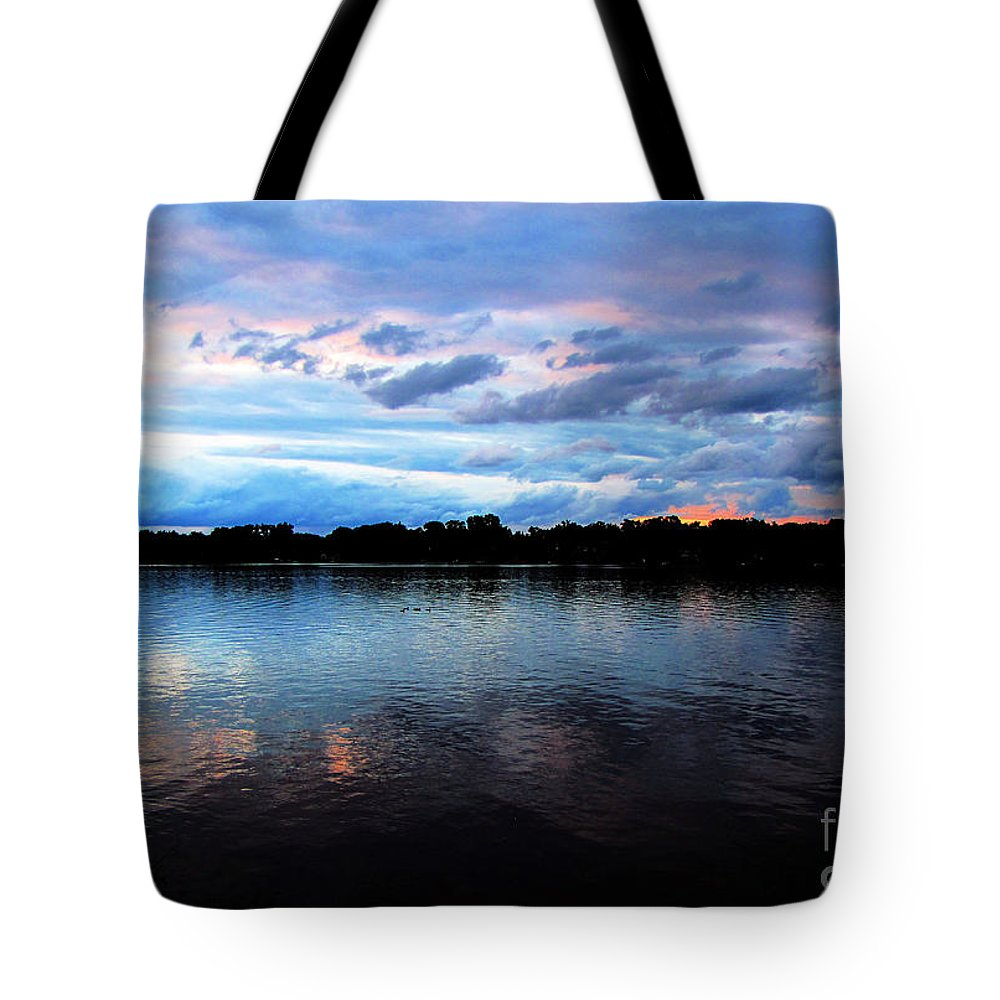 Lake Tote Bag featuring the photograph Thompson Lake 2 by September Stone