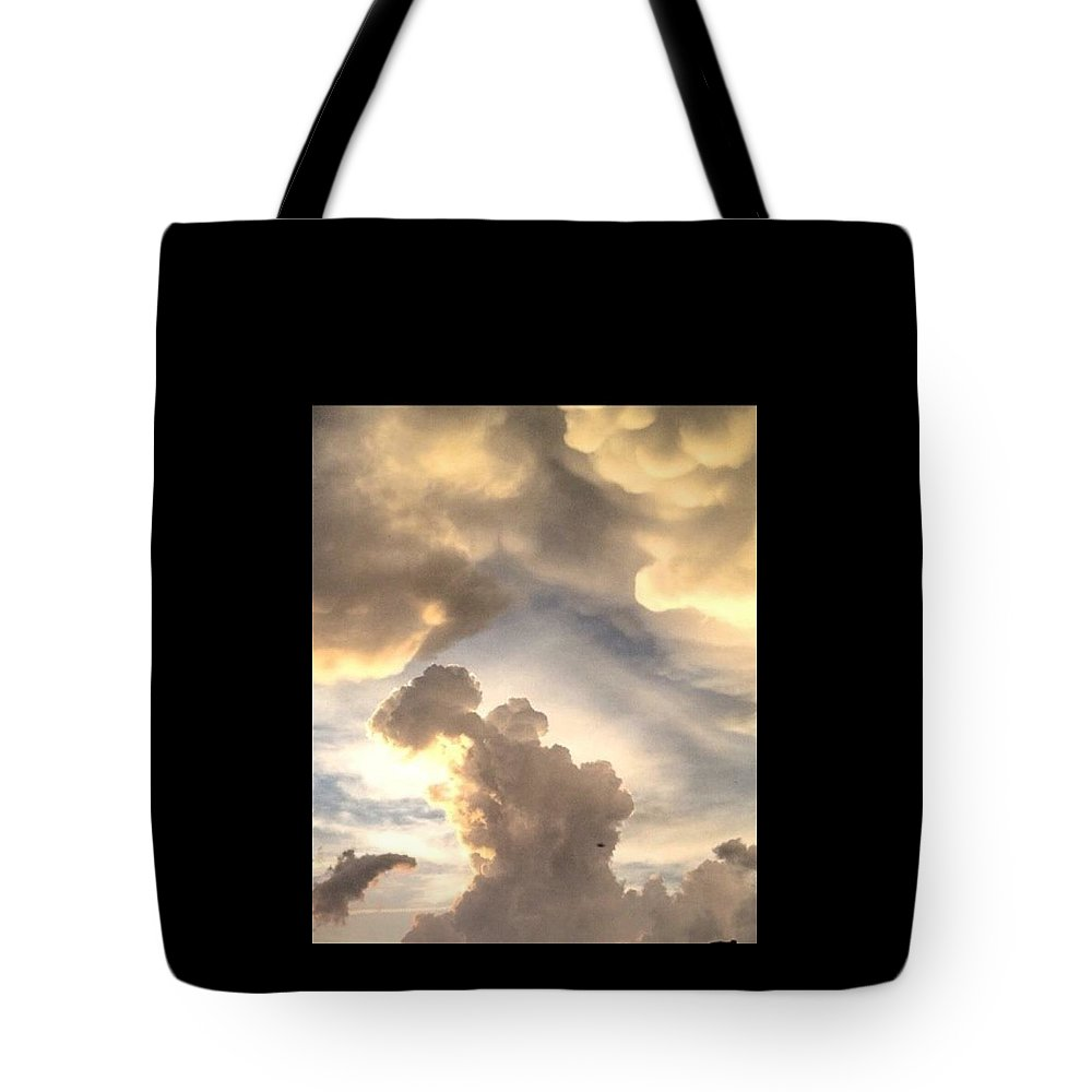 Tote Bag featuring the photograph Thorr by Honie Mills