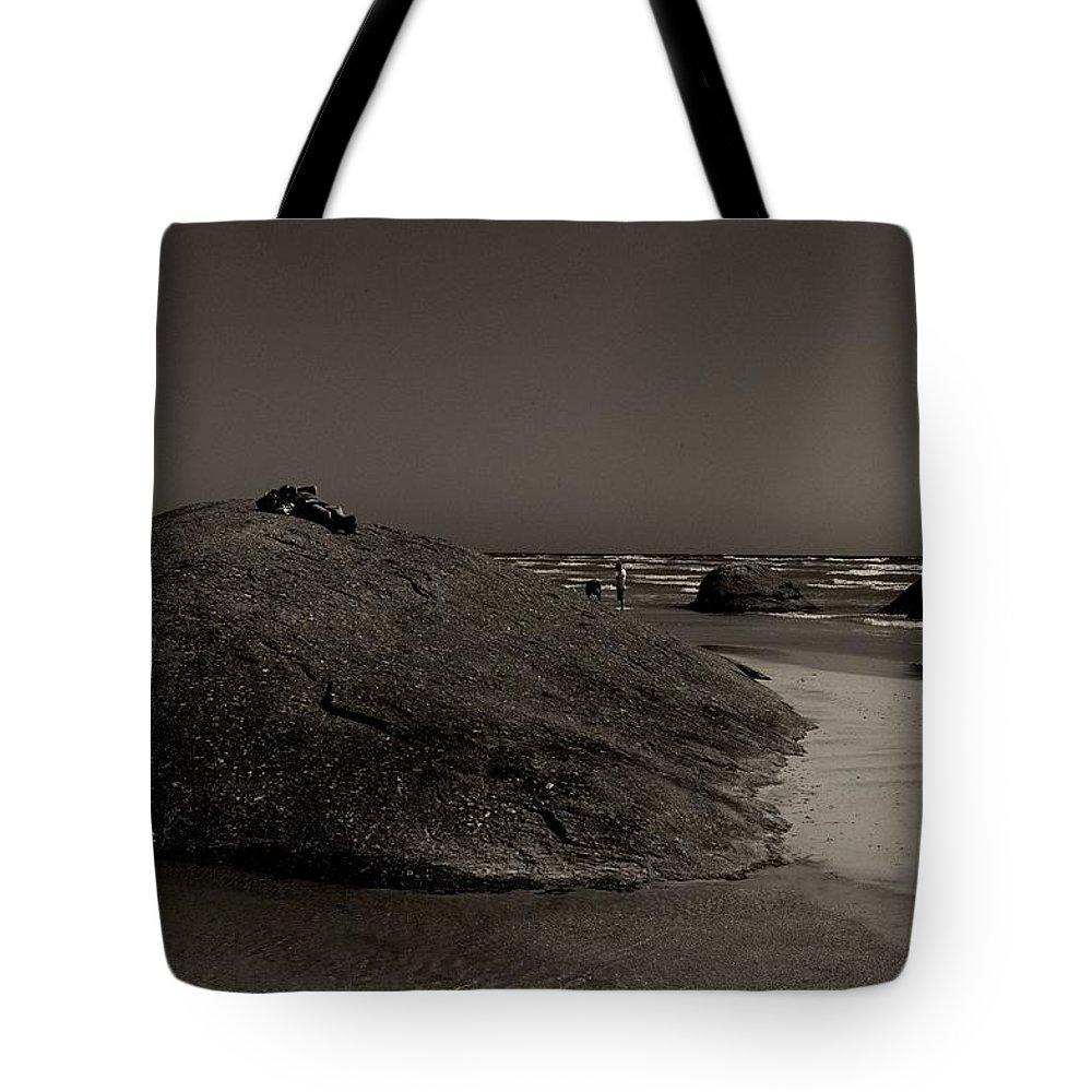 Three Granites Tote Bag featuring the photograph Three Granites by Win Naing