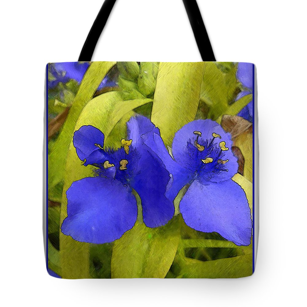 Ebsq Tote Bag featuring the photograph Three Oclocks by Dee Flouton