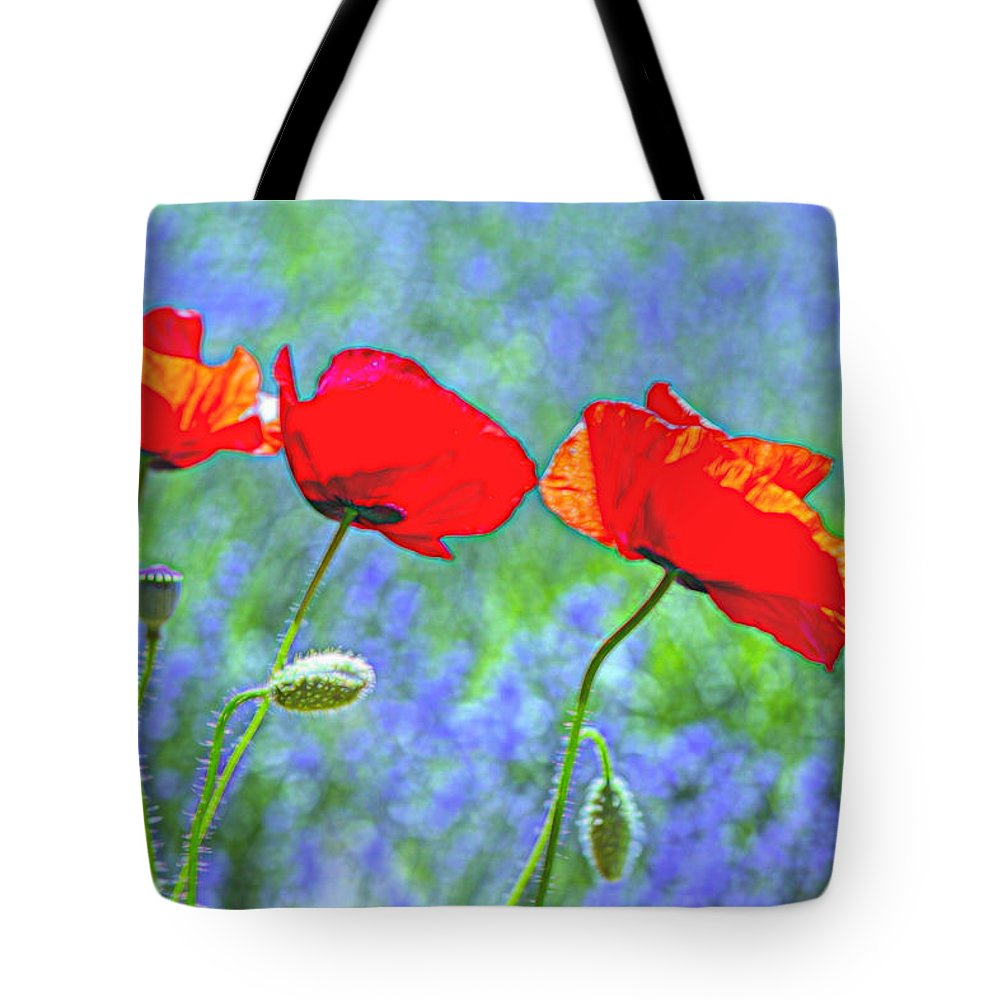 Botanical Tote Bag featuring the photograph Three Sisters by Alana Thrower