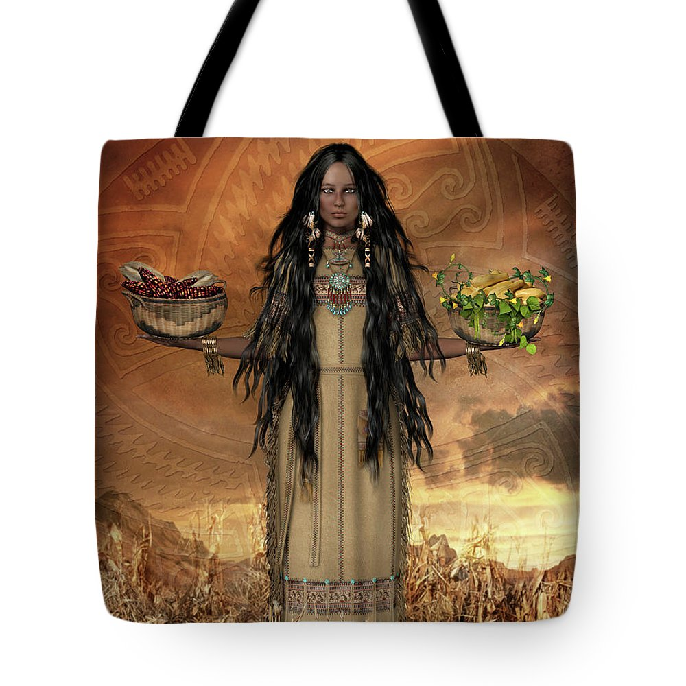 South Sister Tote Bags