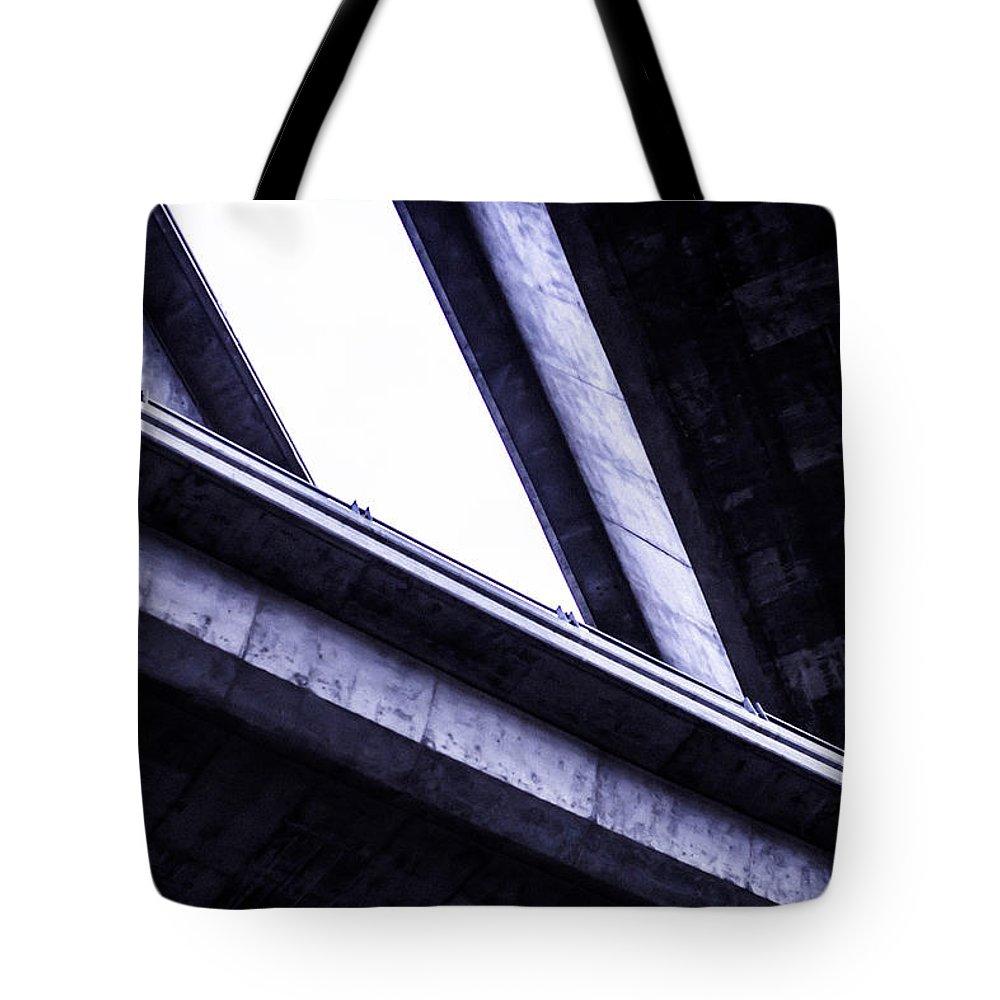 Bridges Tote Bag featuring the photograph Through The Underpass by Xavier Karikitan