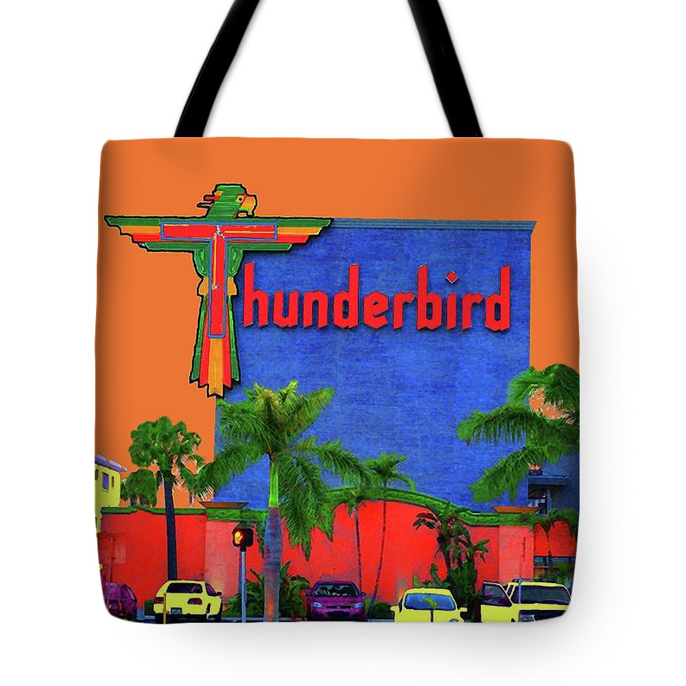 Thunderbird Tote Bag featuring the photograph Thunderbird by Jost Houk