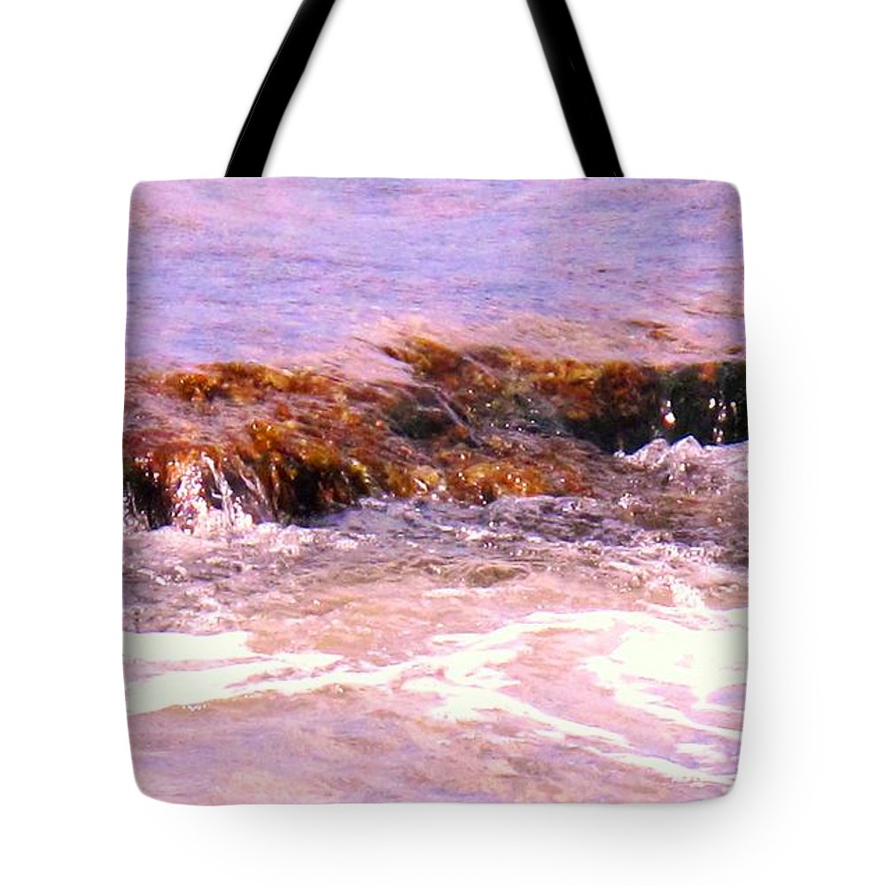 Tide Tote Bag featuring the photograph Tidal Pool by Ian MacDonald