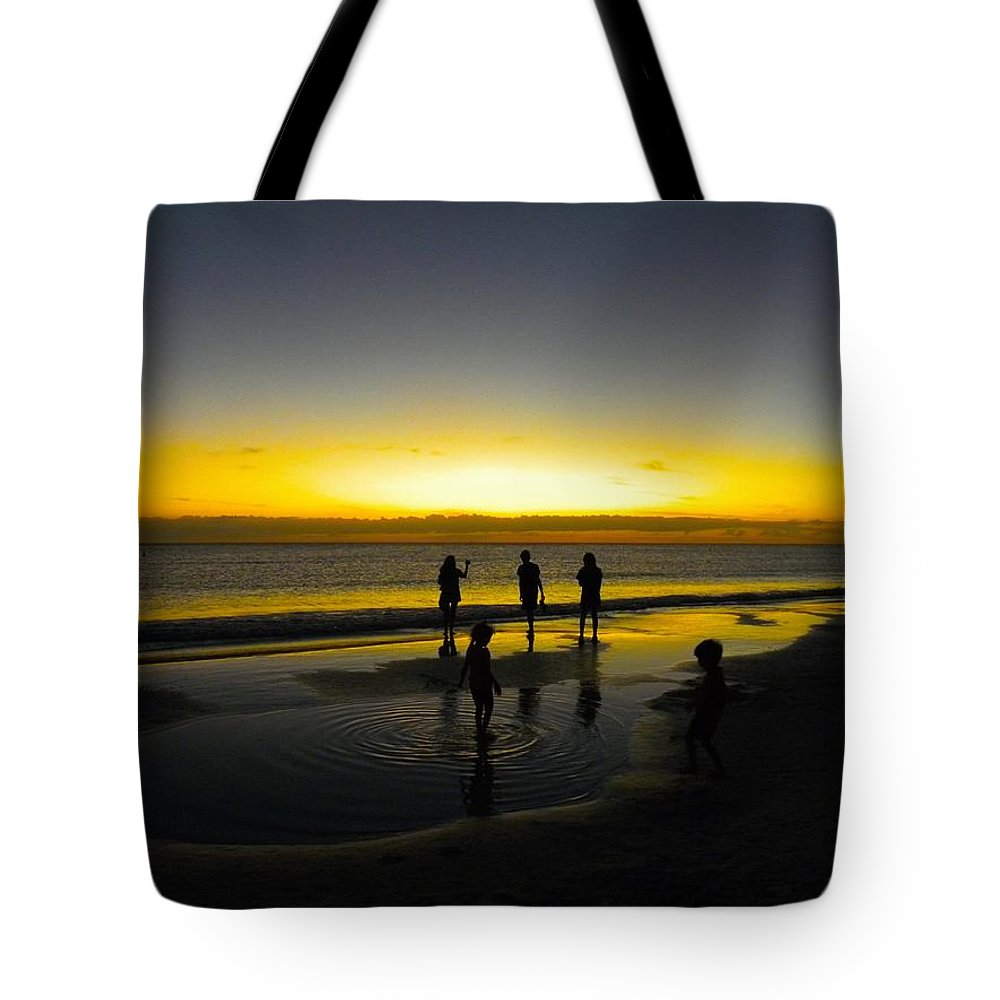 The Gulf Of Mexico Tote Bag featuring the photograph Tidal Pools by Ric Schafer
