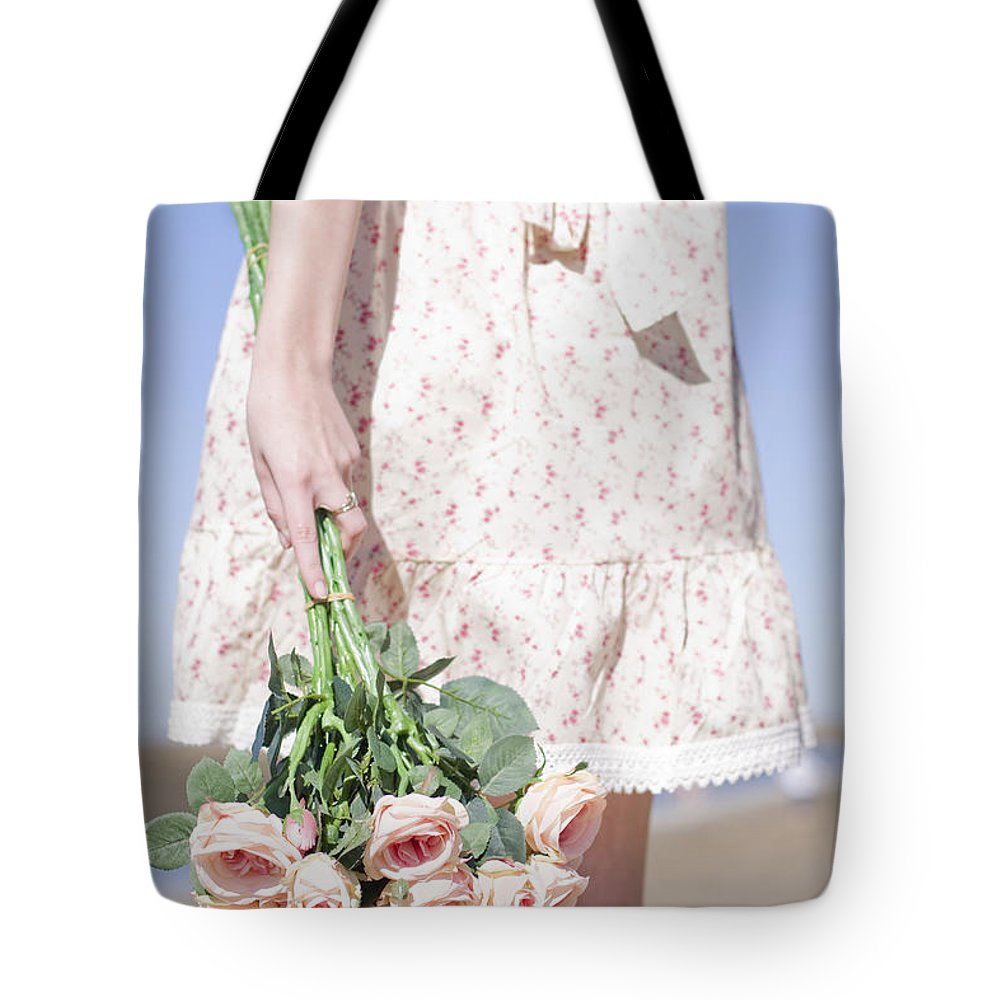 Flora Tote Bag featuring the photograph Tide Of Romance by Jorgo Photography - Wall Art Gallery