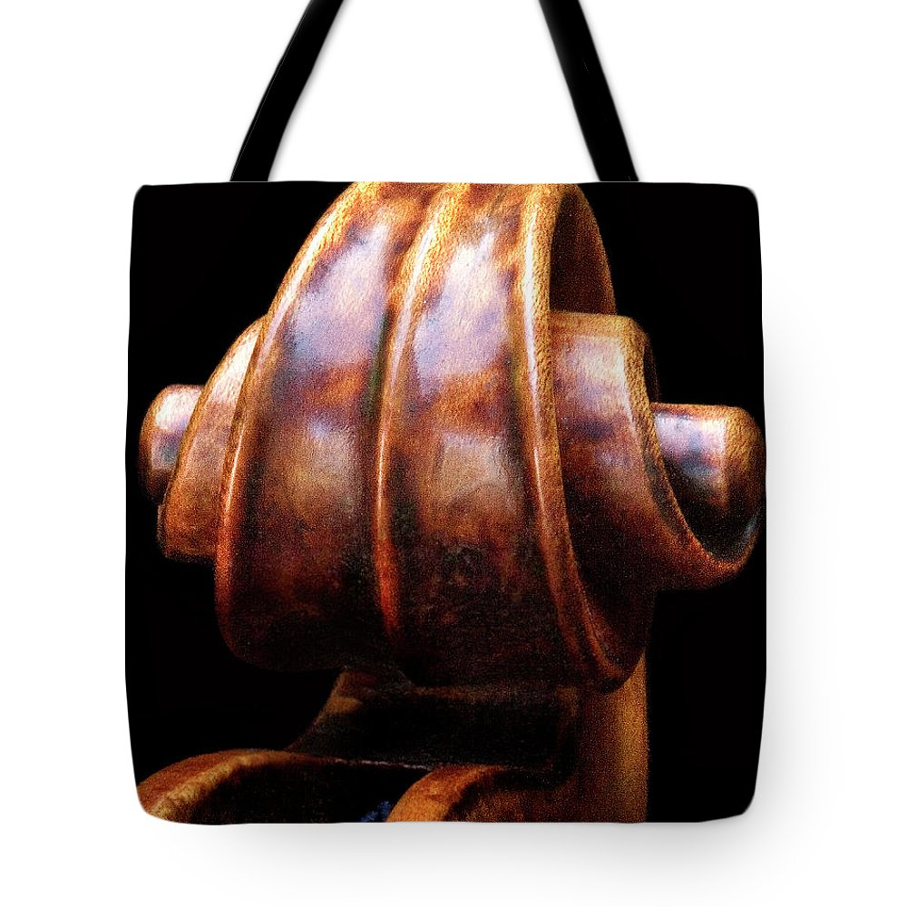 Strad Tote Bag featuring the photograph Tight Closeup by Endre Balogh