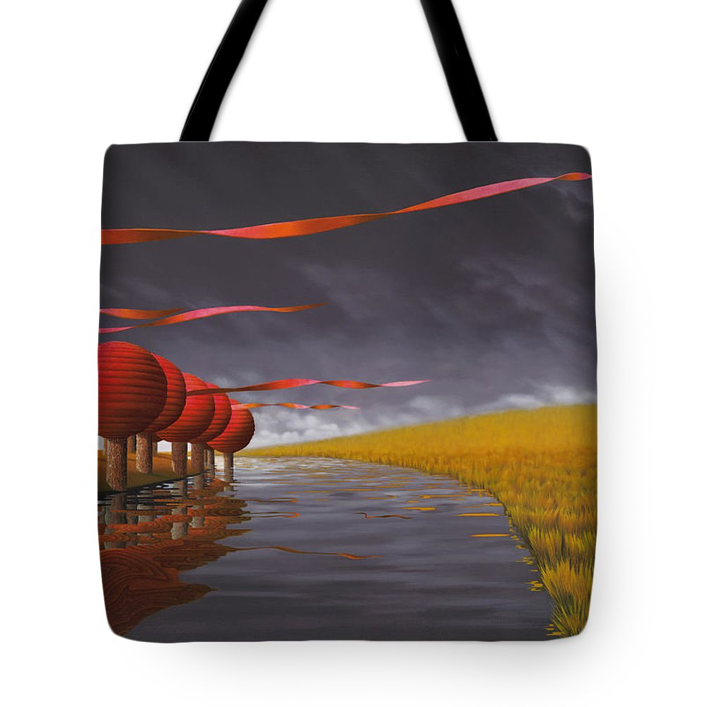 Tree Tote Bag featuring the painting Tilia Ora by Patricia Van Lubeck