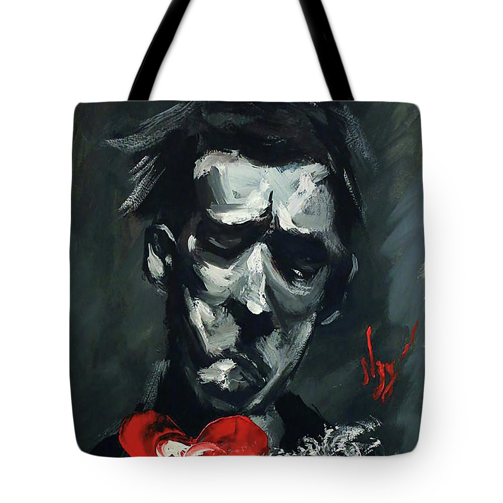 Painting Tote Bag featuring the painting Till We Meet Again by Abdullah Nagy