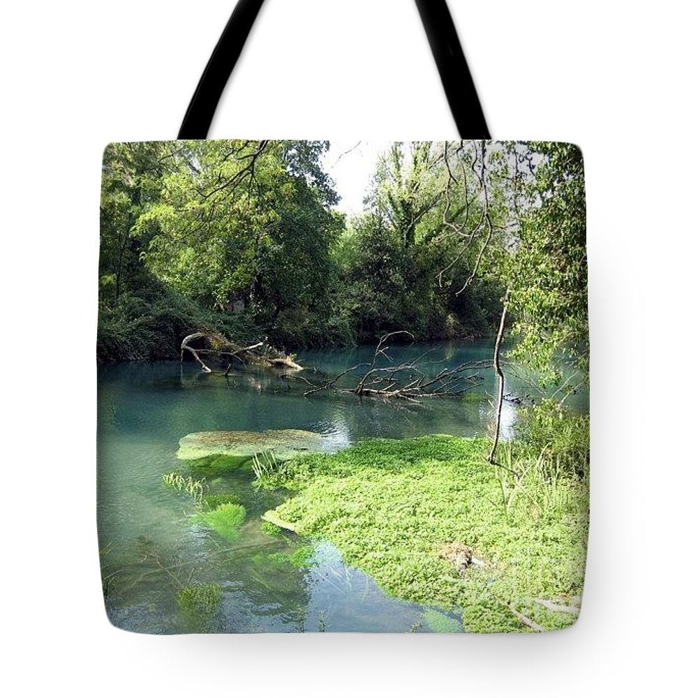 River Tote Bag featuring the photograph Timava's Spring II by Dragica Micki Fortuna