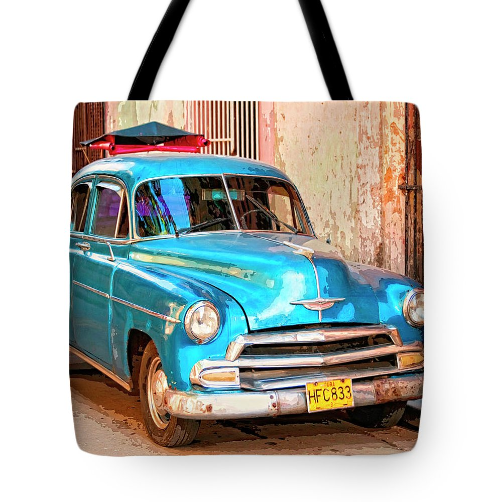 Time Traveler Mixed Media Tote Bags