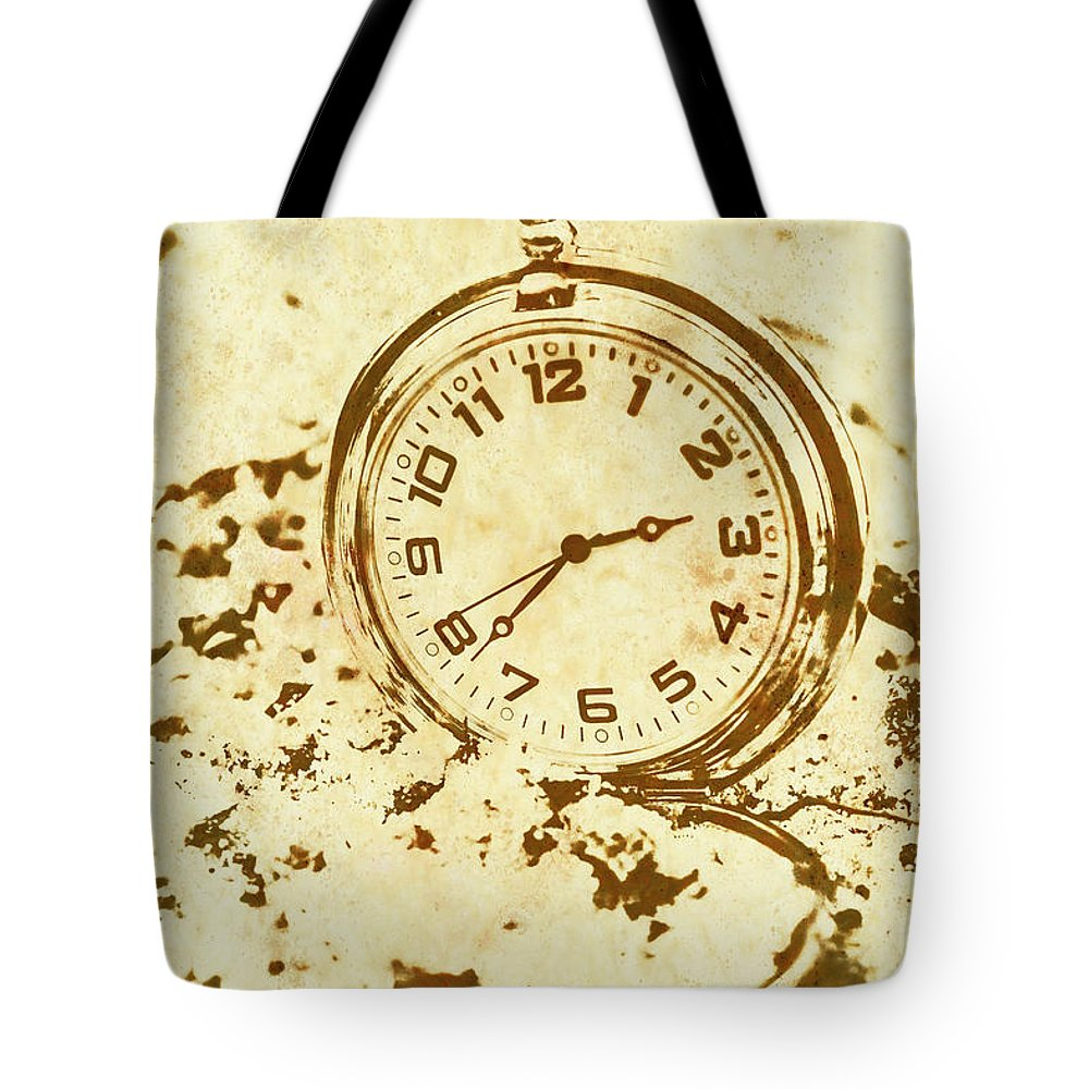 Time Worn Vintage Pocket Watch Tote Bag for Sale by Jorgo ...