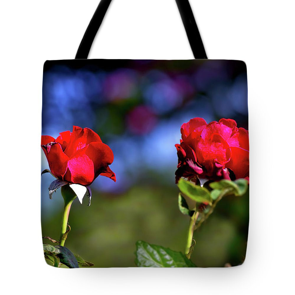 Rose Tote Bag featuring the photograph Timeline by Mark Andrew Thomas