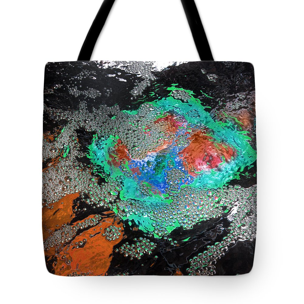 Diane Morgan Tote Bag featuring the photograph Tiny Bubbles 4 by Diane Morgan