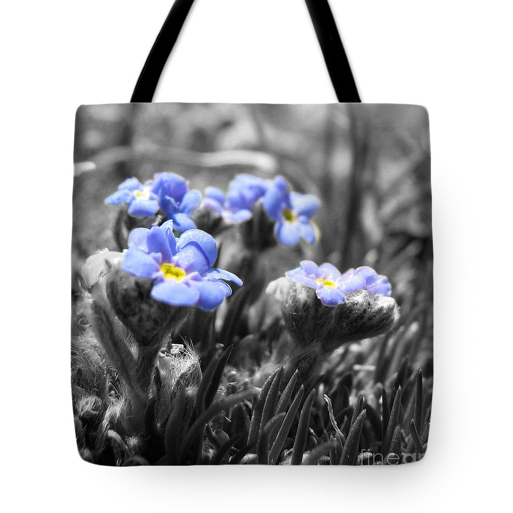 Flowers Tote Bag featuring the photograph Tiny Gems by Amanda Barcon
