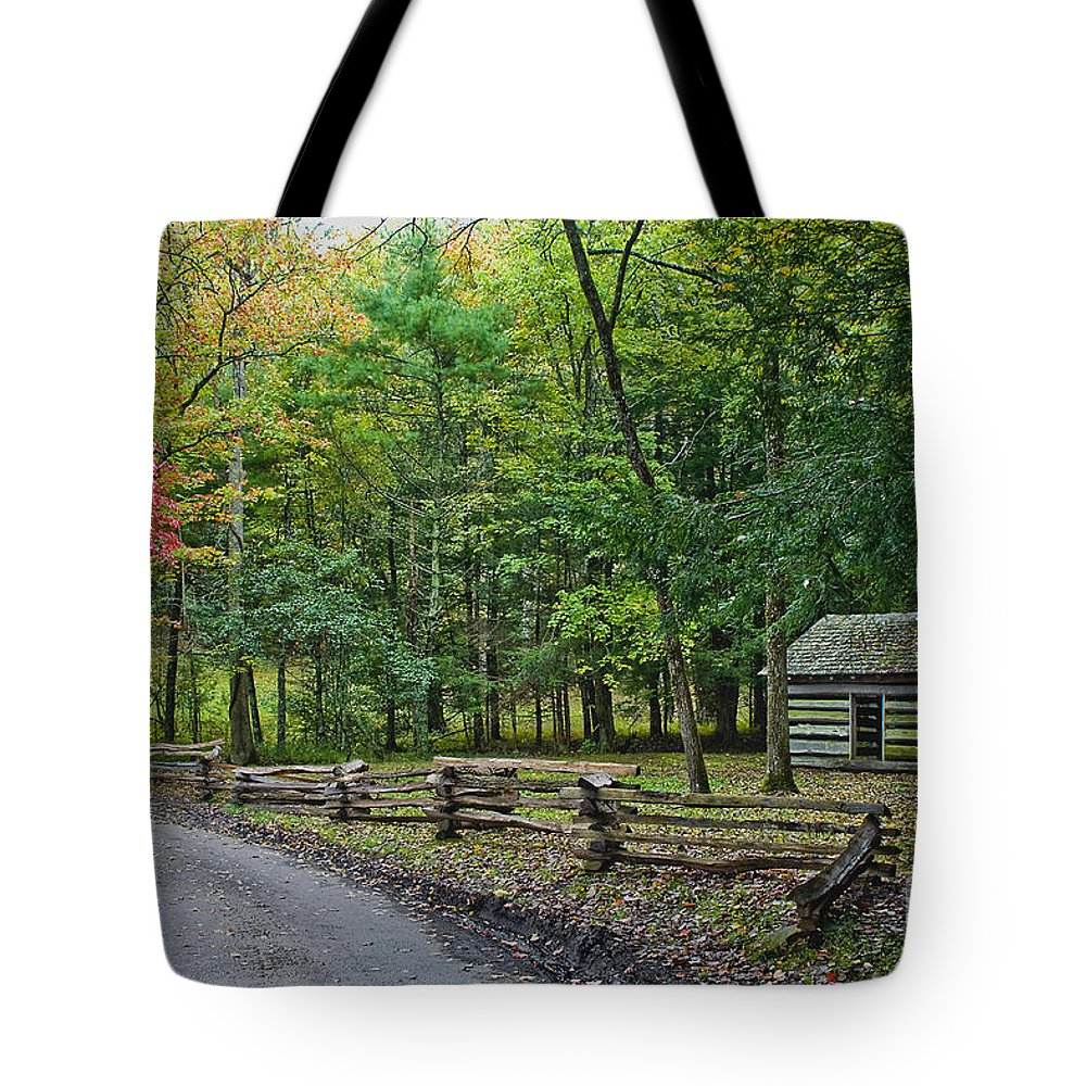 Antiques Tote Bag featuring the photograph Tipton Place by Photography by Laura Lee