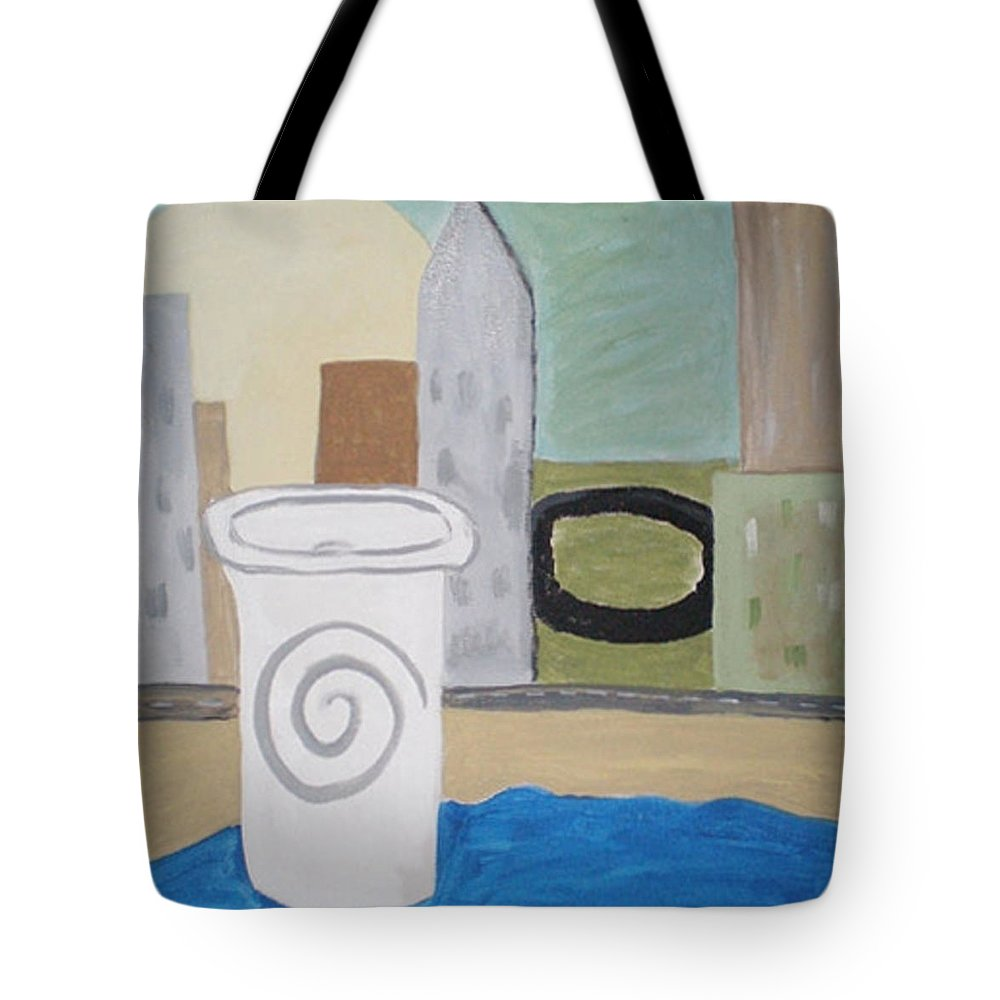 To Go Tote Bag featuring the painting To Go by Beth Cornell