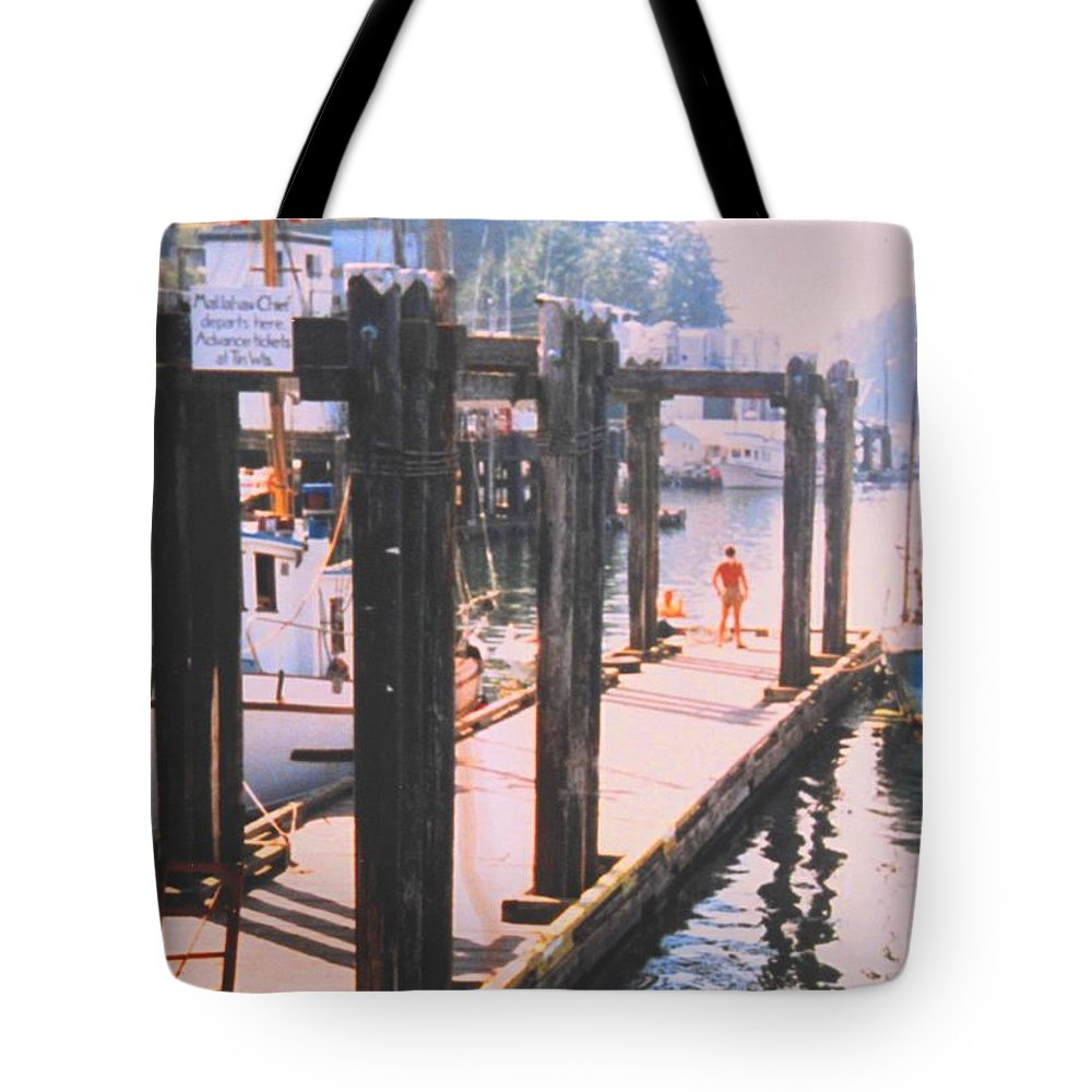 Tofino Tote Bag featuring the photograph Tofino by Ian MacDonald