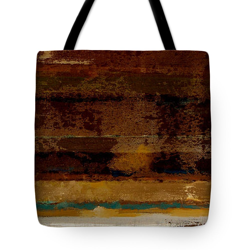 Abstract Tote Bag featuring the painting Togetherness II by Ruth Palmer