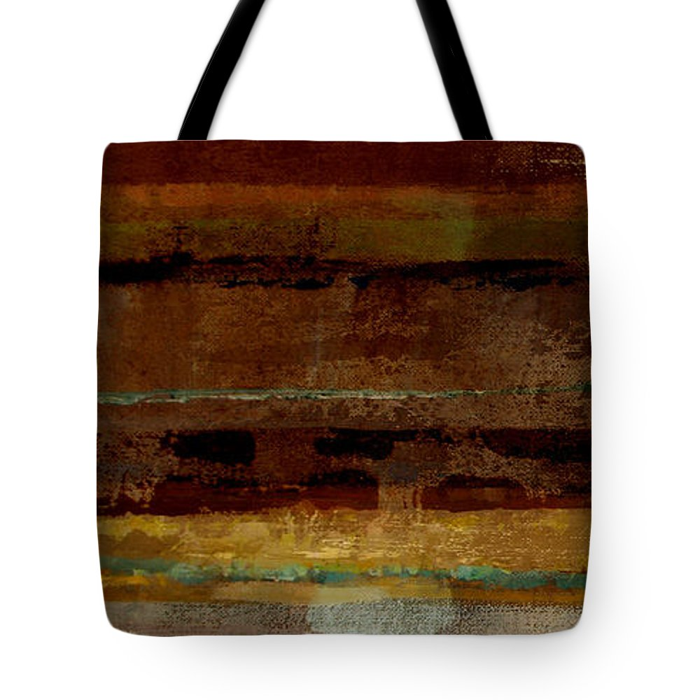 Abstract Tote Bag featuring the painting Togetherness by Ruth Palmer