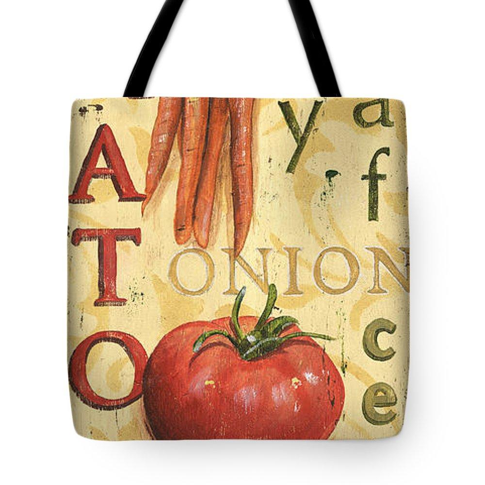 Vegetables Tote Bags