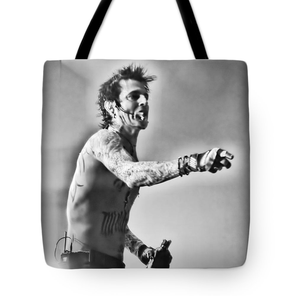 Crue Tote Bag featuring the photograph Tommy Boy by Traci Cottingham