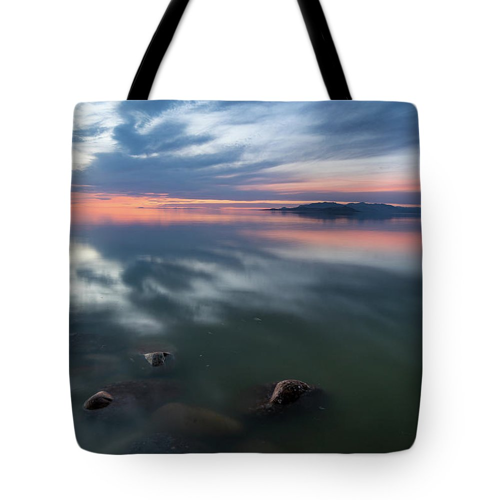 2017 Tote Bag featuring the photograph Tonal Sunset by Justin Johnson