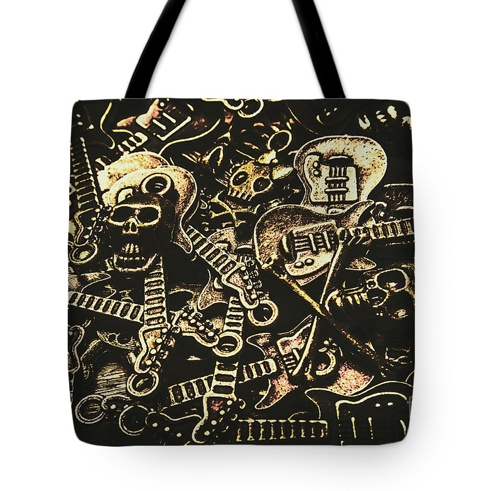 Punk Tote Bag featuring the photograph Tones Of Hard Rock by Jorgo Photography - Wall Art Gallery