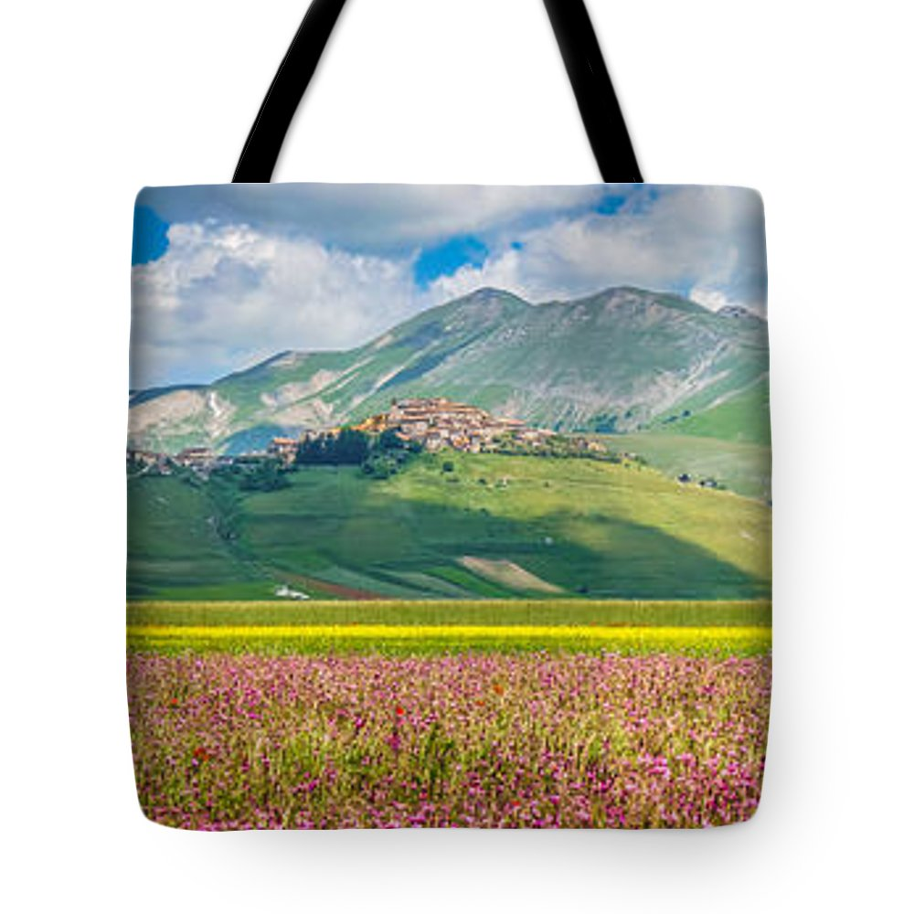 Abruzzo Tote Bag featuring the photograph Tones Of Nature by JR Photography