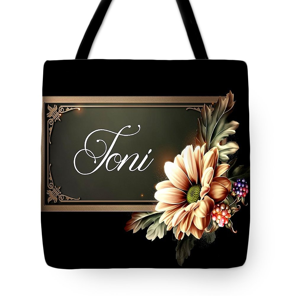 Toni Tote Bag featuring the photograph Toni by G Berry