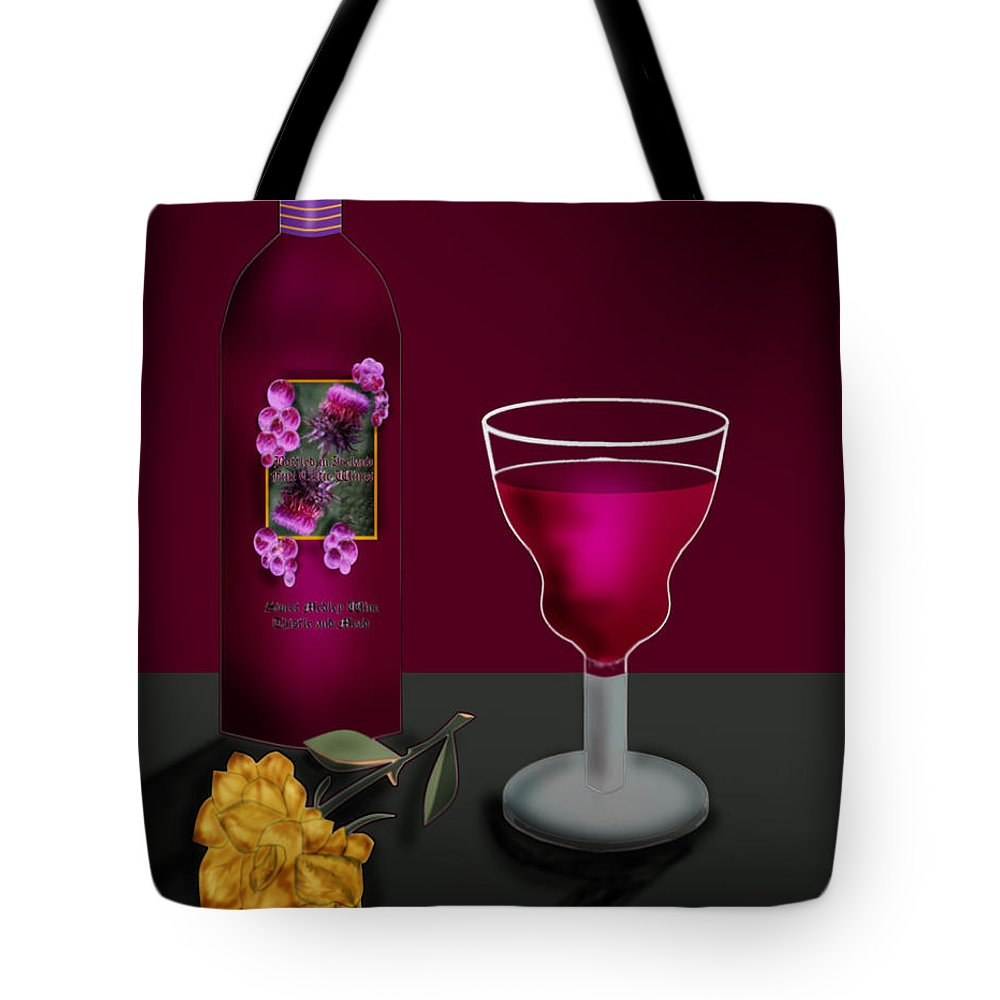 Still Life Tote Bag featuring the painting Tools Of The Trade by Anne Norskog