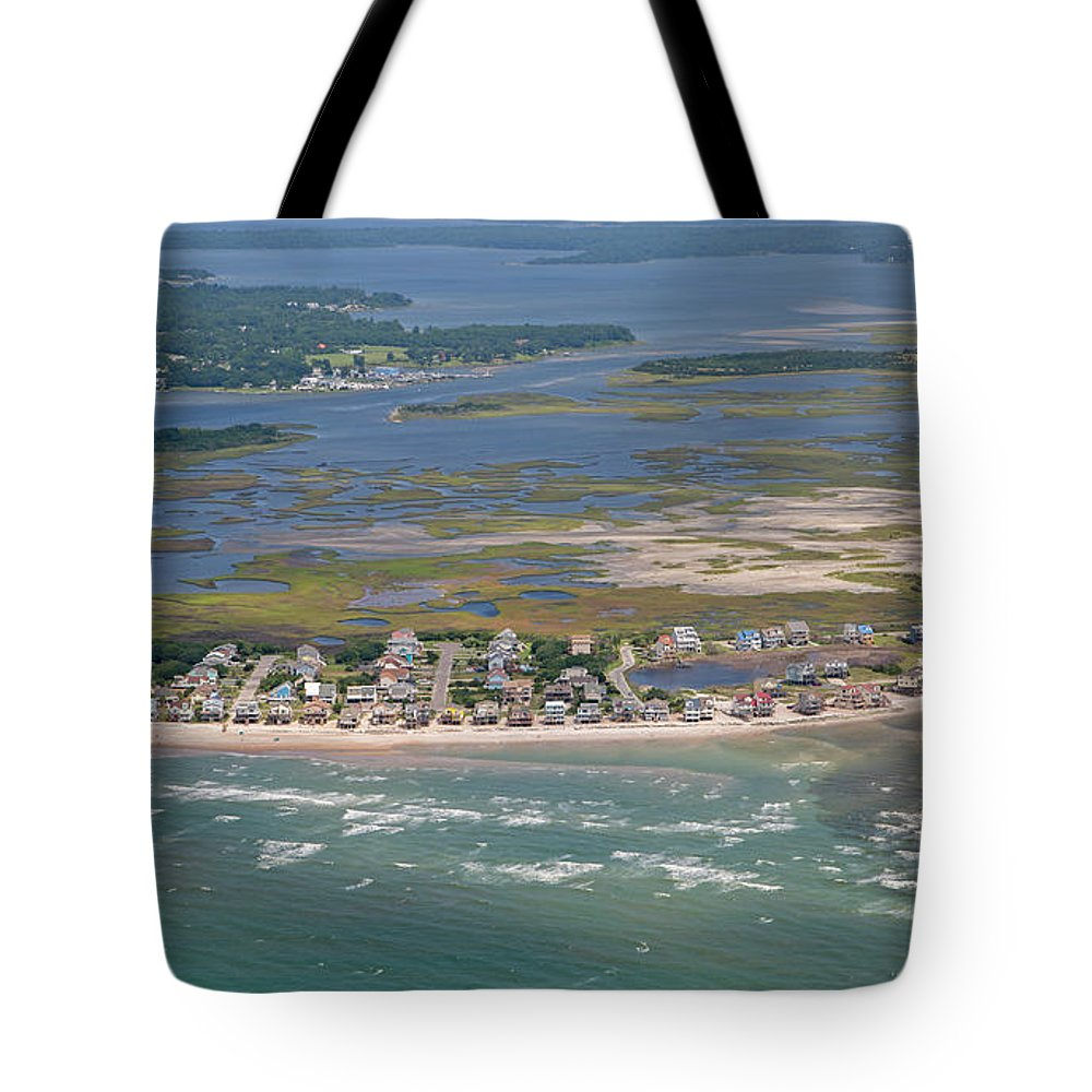 Topsail Tote Bag featuring the photograph Topsail Island Migratory Model by Betsy Knapp