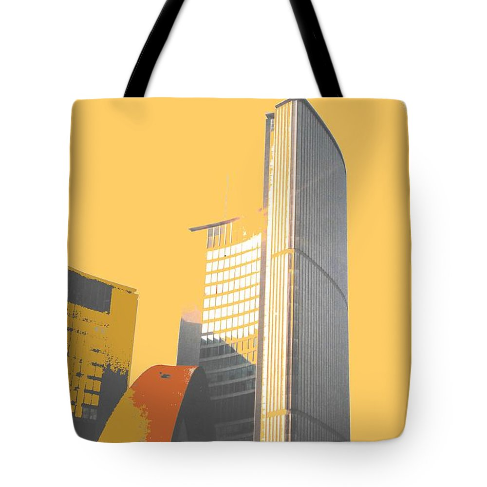 Toronto Tote Bag featuring the photograph Toronto City Hall Arches by Ian MacDonald