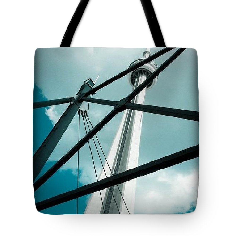 Tote Bag featuring the photograph Toronto by Wenna Pang