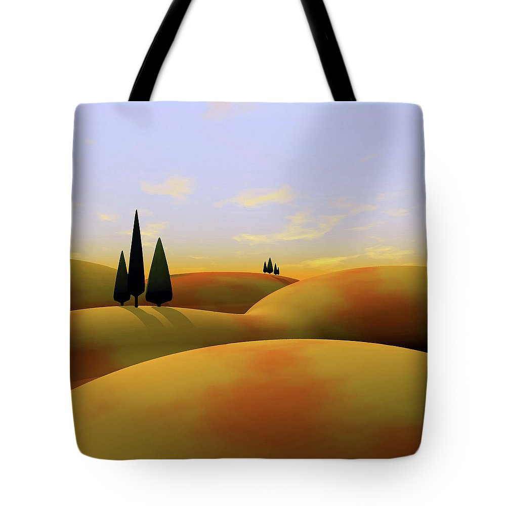 Hills Tote Bags