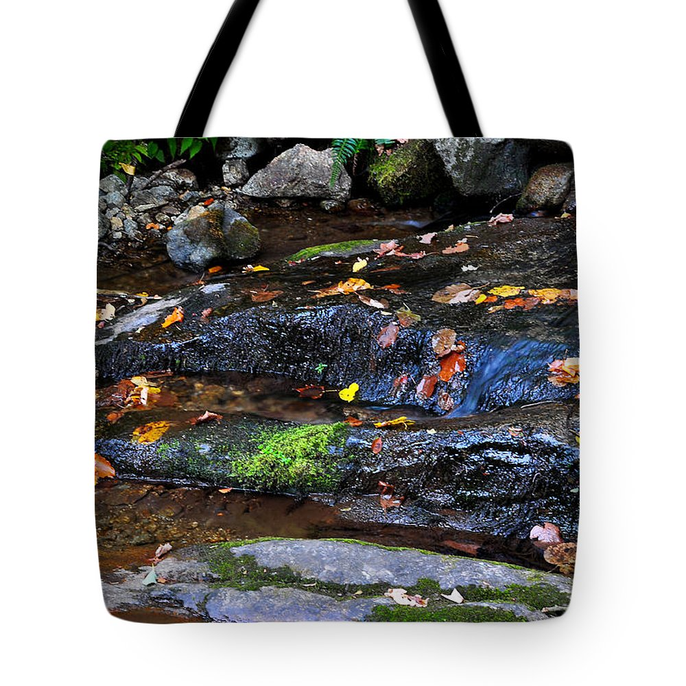 Water Tote Bag featuring the photograph Touch Of Fall by Todd Hostetter