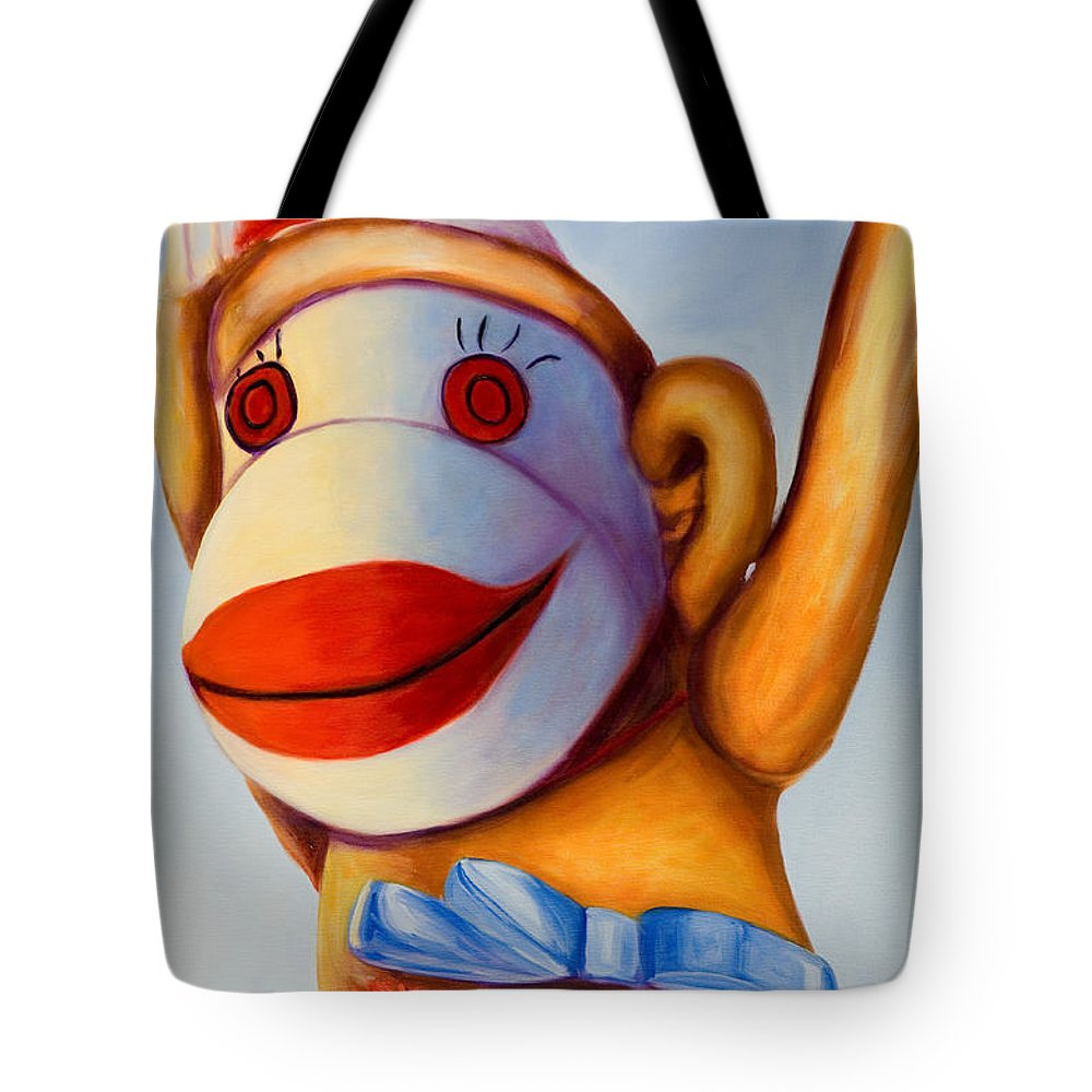 Children Tote Bag featuring the painting Touchdown by Shannon Grissom